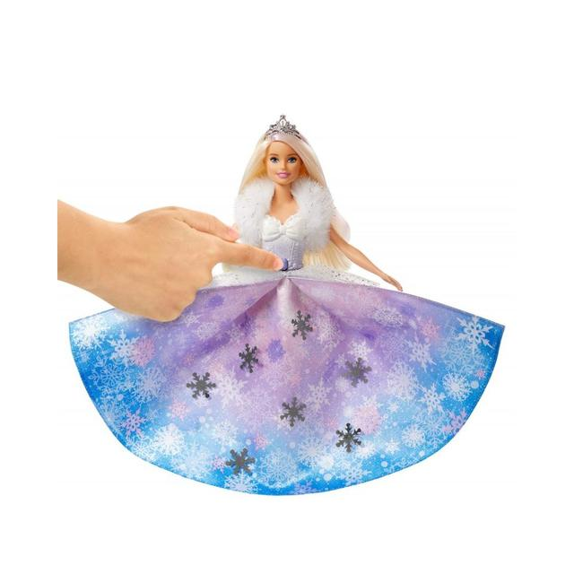 Барби Зимняя магия GKH26