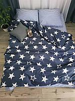 Постельное белье Хлопок 175х215   Двохспальна постільна білизна хлопок   Комплект постельного белья
