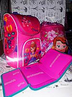 """Набор для Девочки Smile """" Принцесса София """"  рюкзак 988675  , пенал 531791 , сумка для обуви 555337 + Подарок"""
