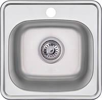 Мийка кухонна врізна з нержавіючої сталі Imperial 38х38 0.6