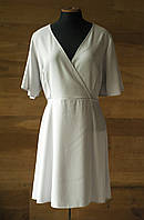 Светло серое летнее платье new look, размер xl