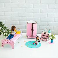 Мебель для кукольного домика Барби NestWood (СПАЛЬНЯ)