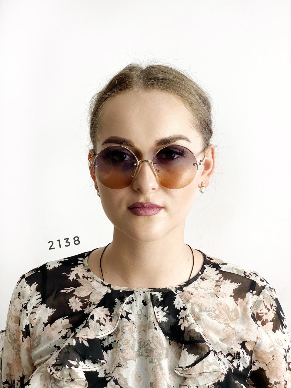 Сонцезахисні окуляри - лінза з переходом двох кольорів