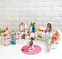 Мебель для кукольного домика Барби NestWood (ДЕТСКАЯ)