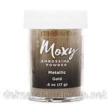 Пудра для эмбоссинга Moxy Metallic Gold