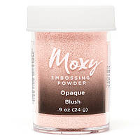 Пудра для эмбоссинга Moxy Opaque Blush, American Crafts,
