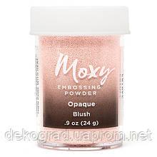 Пудра для эмбоссинга Moxy Opaque Blush