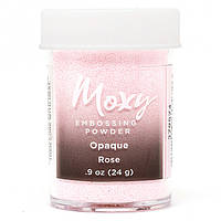 Пудра для эмбоссинга Moxy Opaque Rose