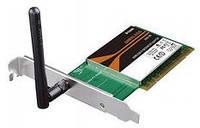 Адаптер WI-FI D-LINK DWA-525 PCI Адаптеры беспроводные Wi-Fi