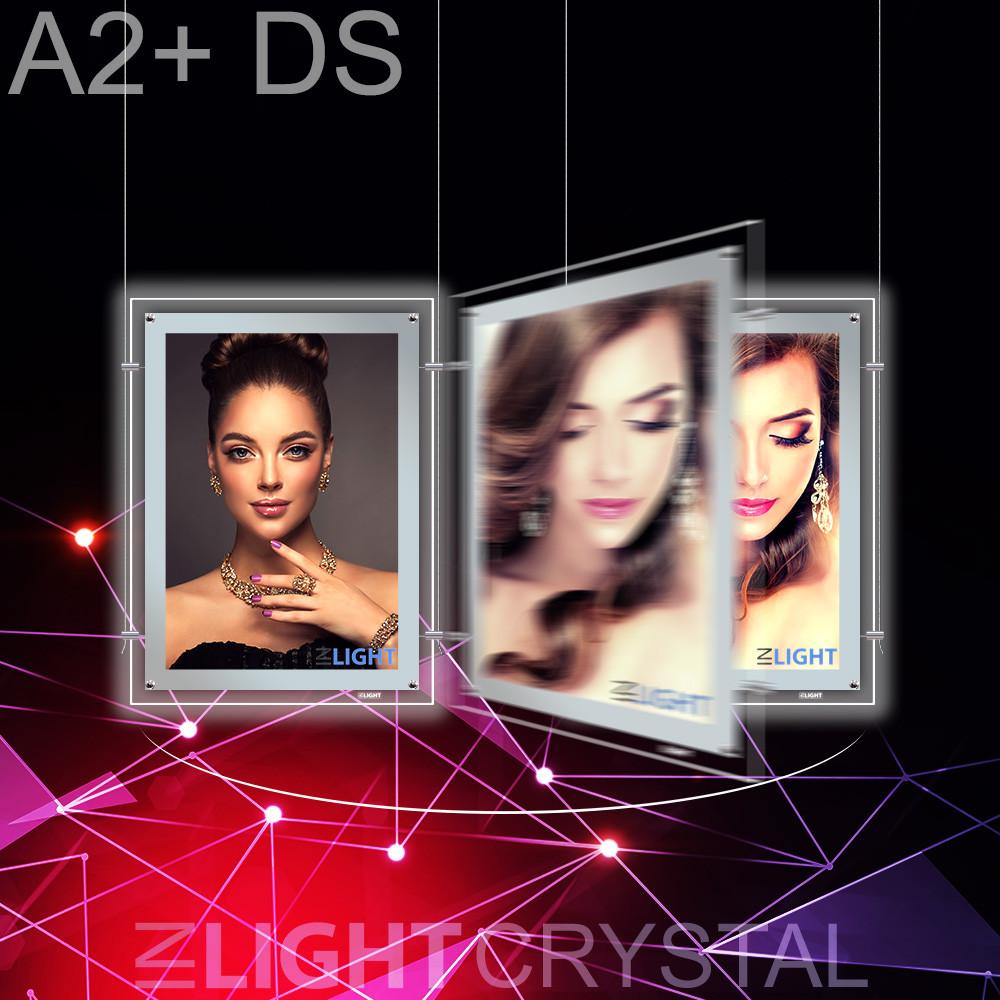 Фреймлайт Crystal Подвесной А2+ Двухсторонний