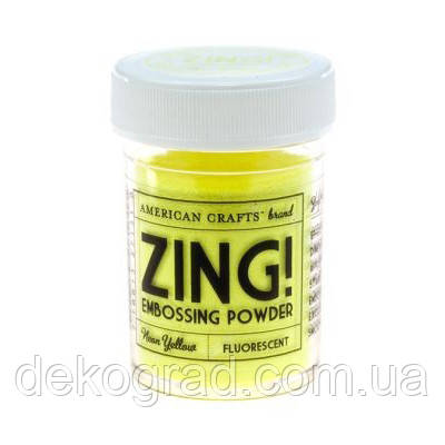 Пудра для эмбоссинга Neon Yellow Zing! embossing powder,