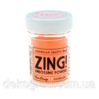 Пудра для эмбоссинга Neon Orange Zing! embossing powder,