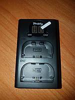 Двойное зарядное USB устройство Dual Charger DL-LPE6 для Canon LP-E6, LP-E6N