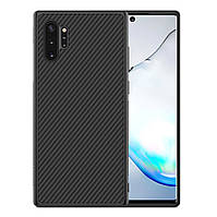 Карбоновый чехол для Samsung Note 10 Plus Nillkin Synthetic Fiber