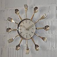 """Часы кухонные """"Ложки и вилки"""" (38*38*3 см.)"""
