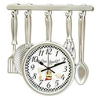 """Часы кухонные """"Bon appetit"""" (33*34*4 см.)"""