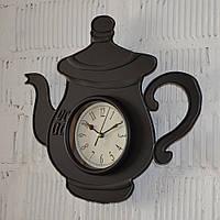 Фигурные настенные часы кухонные (32*34*4 см.)