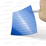 Термопрокладка 3K410-V20 1.0мм высечка 10x10 100шт синяя 4W термоинтерфейс для ноутбука, фото 7