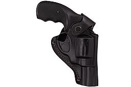 Кобура поясная Револьвер 3 формованная (кожа, чёрная)