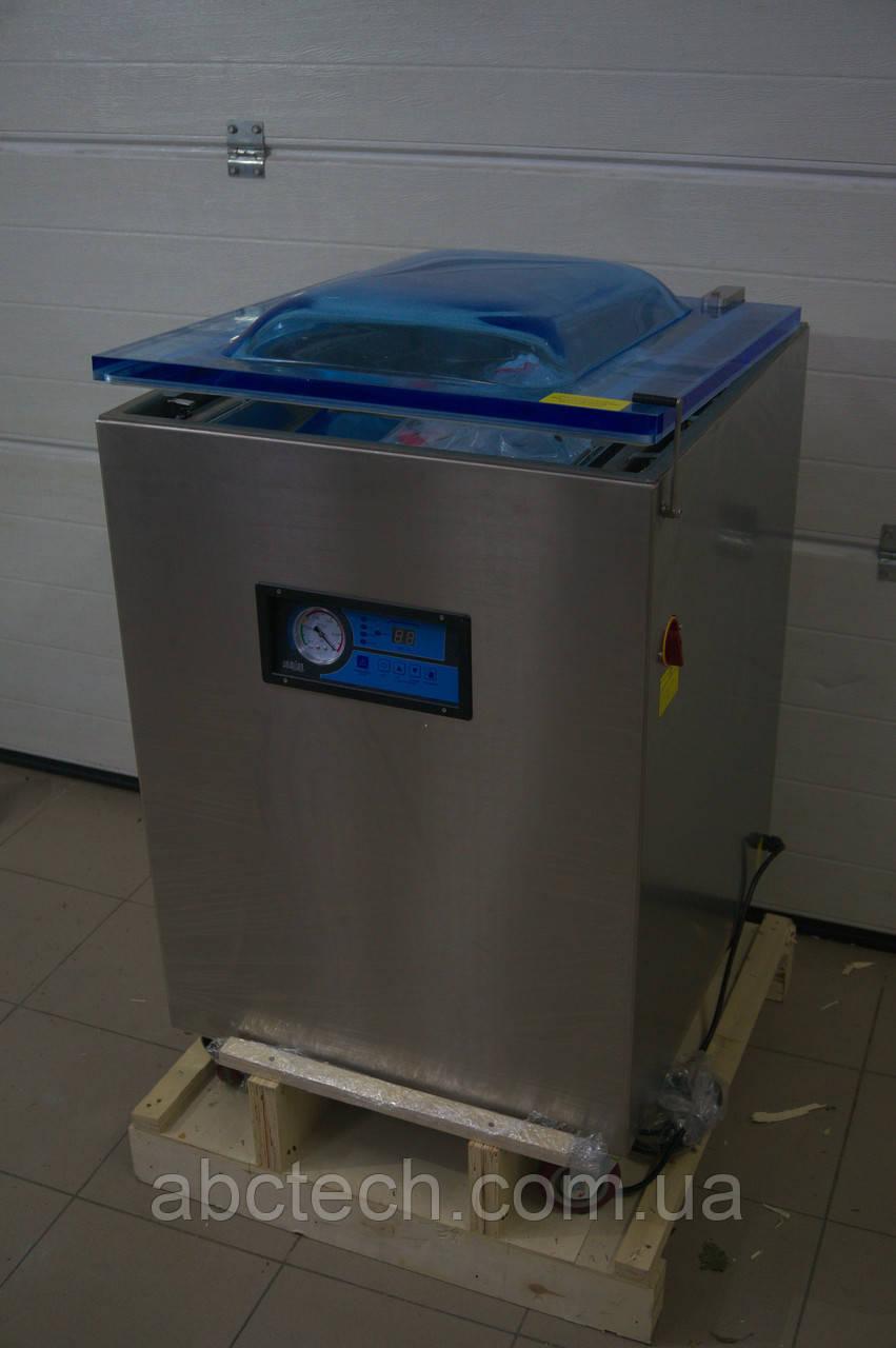 Напольный вакуумный упаковщик Вакуумная Камера Hualian Machinery Group HVC-510F/2A-G
