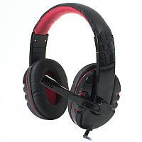 Наушники с микрофоном Soyto SY733MV Black/Red (1355-5814)