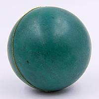 Мячик для метания резиновый вес-200г, d-55мм C-3792 Зеленый