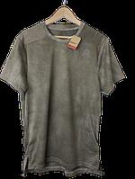 Футболка мужская Reebok цвет хаки размер M арт D95979