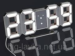 Часы 3D светодиодные светящиеся Digoo с будильником  Красный