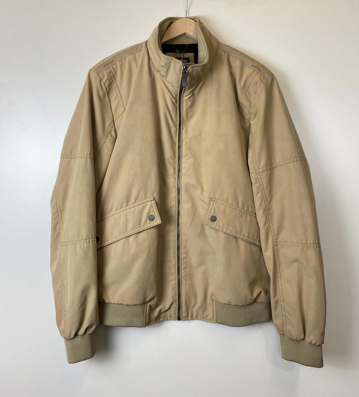 Куртка мужская GEOX цвет темно-серый размер 54 арт M8428YT25215F1073