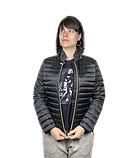 Куртка женская GEOX цвет черный размер 42 46 арт W8425BT2510F9065, фото 2