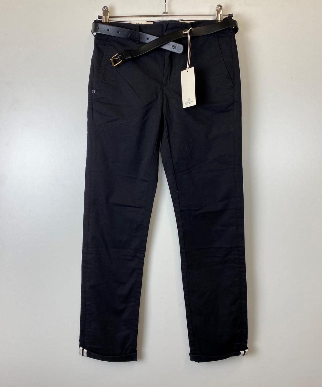 Штаны мужские Scotch & Soda цвет черный размер 152 арт 14183718-SSBD-C80