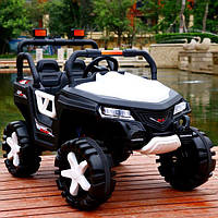 Электромобиль детский джип Tilly с колесами EVA Белый (optc_T-7844 EVA W)