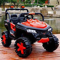 Электромобиль детский джип Tilly с колесами EVA Красный (optc_T-7844 EVA R)
