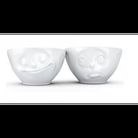 Набор Tassen Счастливая улыбка& Ой, пожалуйста из двух фарфоровых пиал (200 мл)