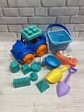 Набор для песочницы, набор  из силикона  для игр в песке  HG-778, фото 6