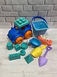 Набор для песочницы, набор  из силикона  для игр в песке  HG-778, фото 7