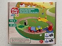 Деревянная железная дорога PlayTive Junior 17 елементов