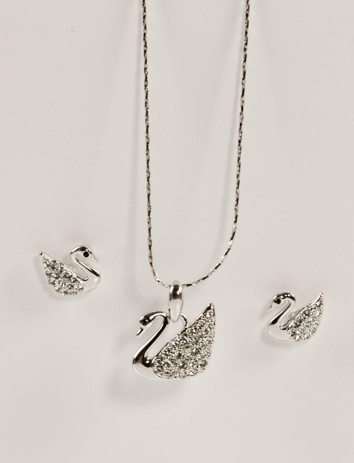 Гарнитур с лебедями  682 KH01  XA