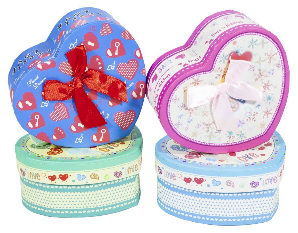 Ювелирные подарочные коробки сердце XH1633