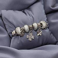 Браслет с шармами Pandora clover