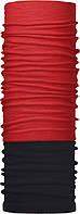 Зимовий бафф Бандана-трансформер Червоний №1 Чорно-червоний (ZBT-058)
