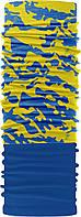 Зимовий бафф Бандана-трансформер Синьо-жовтий (ZBT-040-3)