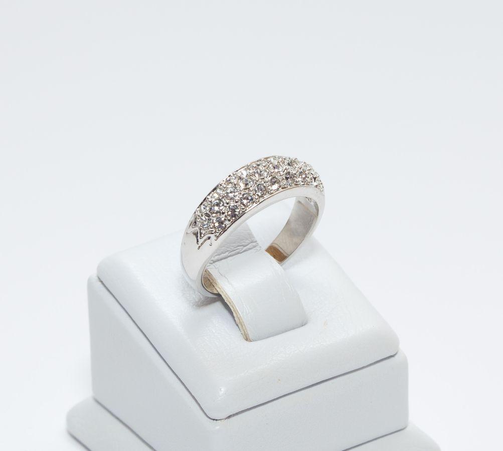 Кільце з розсипом каміння 807 КН01 AS