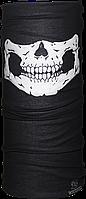 Бандана-трансформер JiaBao Челюсть Черный с белым (HB-F018/1)