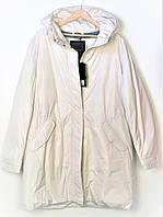 Пуховик женский GEOX цвет молочно-белый размер 50 арт W8428QT2506F1477