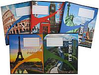 Зошит в лінійкуЛідер 96 аркушів, особливі місця