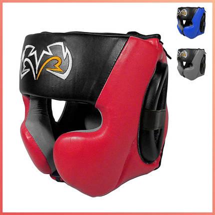 Боксерский шлем RIVAL RHG30 Boxing Headgear, фото 2