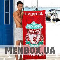 Полотенце для пляжа Sport Line красного цвета