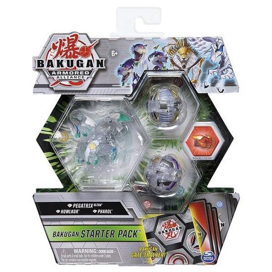 Bakugan Armored Alliance: Набор из трех бакуганов Пегатрикс Бриллиант (Pegatrix ultra) Spin Master