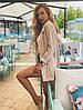 """Льняной женский пиджак в полоску """"CAMPBELL"""" с карманами (2 цвета), фото 3"""